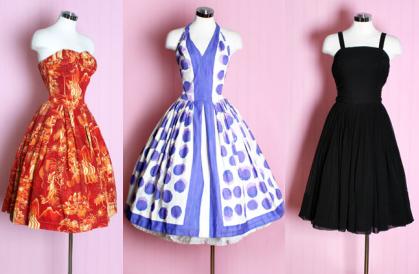 Zomerse jurkjes bij Posh GirlVintage